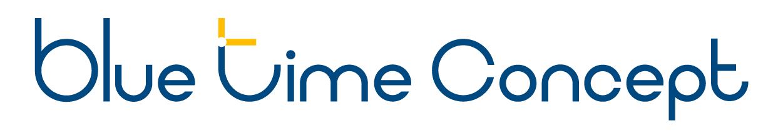 Blue Time Concept